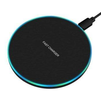 Wireless Round Phone Charger Best Sellers Chargers & Cables Wireless Devices CoolTech Gadgets free shipping |Activity trackers, Wireless headphones