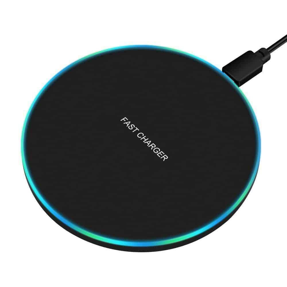 Wireless Round Phone Charger Best Sellers Chargers & Cables Wireless Devices CoolTech Gadgets free shipping  Activity trackers, Wireless headphones