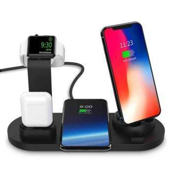 3 in 1 Wireless Phone Charger Chargers & Cables Wireless Devices CoolTech Gadgets free shipping  Activity trackers, Wireless headphones