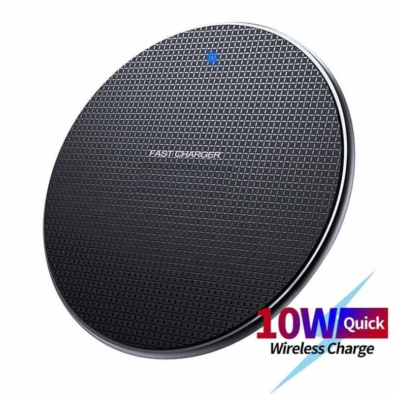 Universal Wireless Round Charger Chargers & Cables Wireless Devices CoolTech Gadgets free shipping |Activity trackers, Wireless headphones