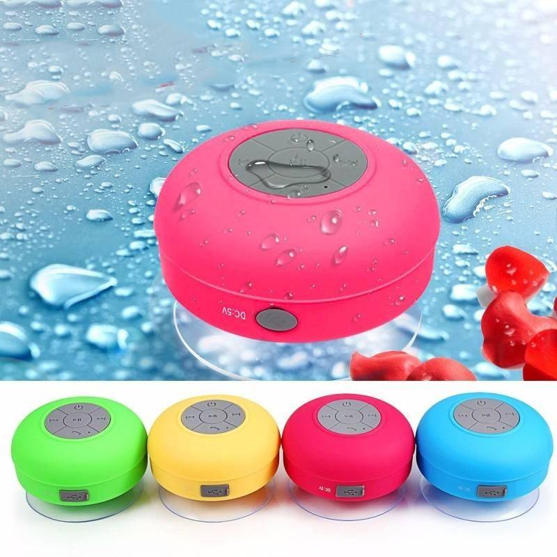 Mini Bluetooth Speaker Portable Waterproof Wireless Handsfree Speakers, For Showers, Bathroom, Pool, Car, Beach & Outdo Bluetooth Speakers Wireless Devices iPhone cases, AirPods replacement, Activity trackers, Smart Gadgets