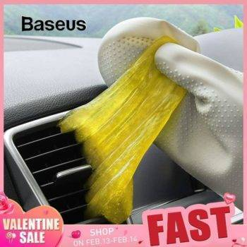 Baseus Car Cleaner Glue Gum Air Vent Outlet Dashboard Cleaning Tool Dust Dirt Keyboard Clean Vacuum Cleaner Soft Gel Car Accessories iPhone cases, wireless speakers, activity trackers | CoolTech Life