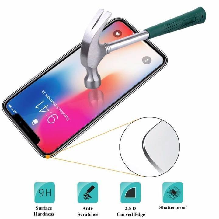 9H HD Tempered Glass For iphone X XS 11 Pro Max XR 7 8 Screen Protector 5s protective Glass on iphone 7 8 6s Plus X 11 Pro glass