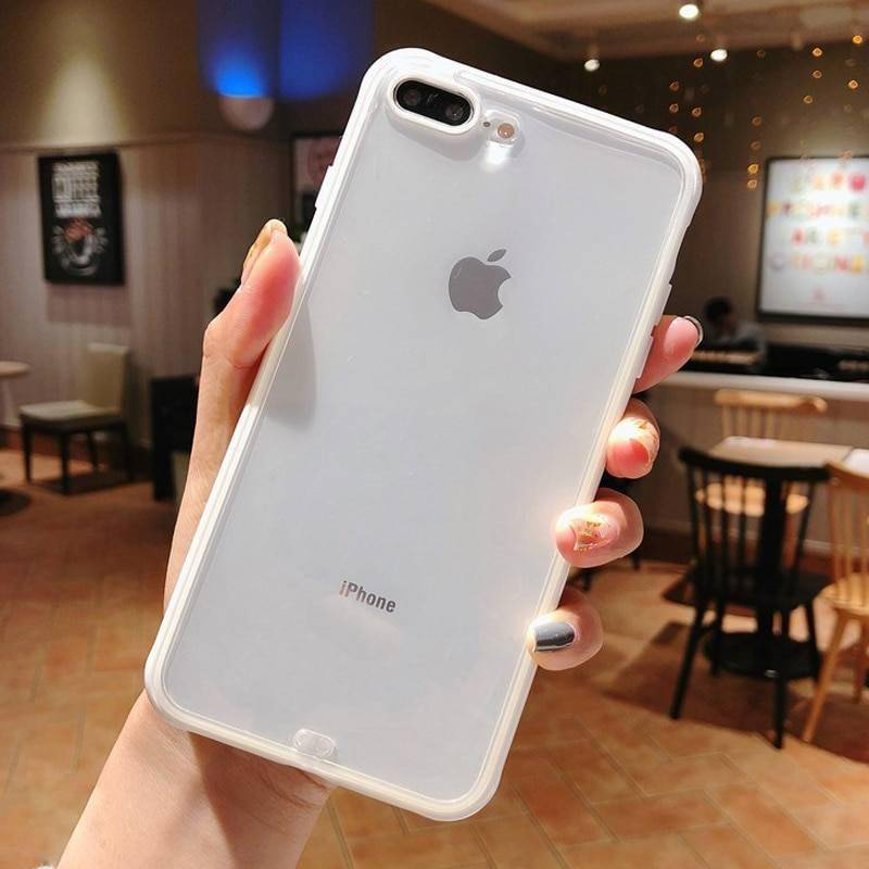 Shockproof Bumper Transparent Silicone Phone Case For iPhone 11 Pro X XR XS Max 8 7 6 6S Plus Clear Soft Back Cover Phone Cases Smartphone Accessories CoolTech Gadgets free shipping |Activity trackers, Wireless headphones