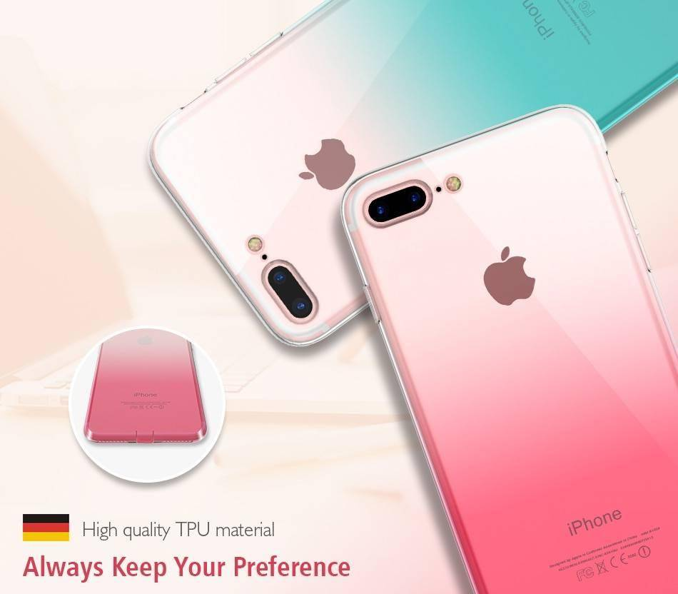 FLOVEME Case For iPhone 11 7 8 Plus iPhone XR X XS MAX Ultra Thin Case For 6 6S Clear TPU Phone Case For iPhone 11 Pro Max Cover