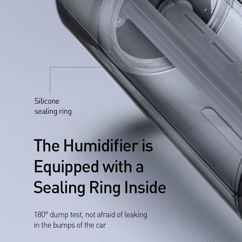 Baseus Car Air Purifier Humidifier Aluminium Alloy 300mL Auto Armo Diffuser Air Freshener Humidifier For Cars Other CoolTech Gadgets free shipping |Activity trackers, Wireless headphones