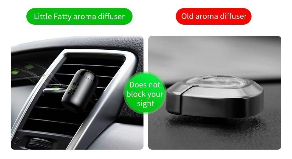 Baseus Metal Car Perfume Air Freshener Aromatherapy Solid for Car Air Vent Outlet Freshener Air Condition Clip Diffuser