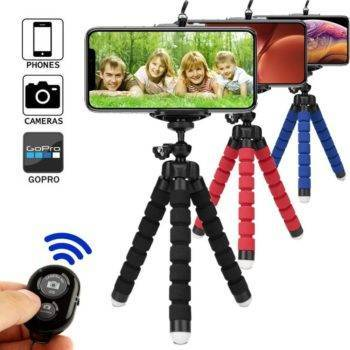Tripod for phone tripod monopod selfie remote stick for smartphone iphone tripode for mobile phone holder bluetooth tripods Holders & Stands Smartphone Accessories iPhone cases, wireless speakers, activity trackers & cool gadgets