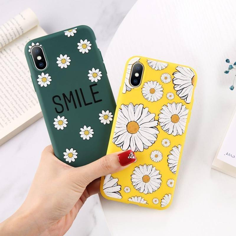 Floral Soft Silicone Phone Case for iPhone New Arrivals Phone Cases Smartphone Accessories iPhone cases, wireless speakers, activity trackers & cool gadgets