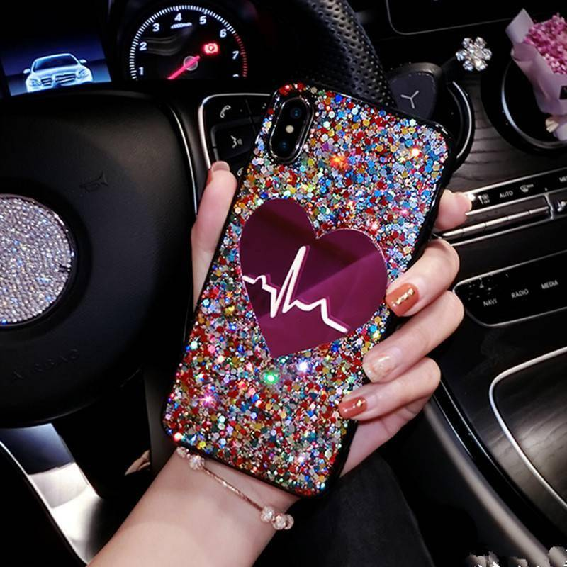 Glitter Heart Case for iPhone New Arrivals Phone Cases Smartphone Accessories iPhone cases, wireless speakers, activity trackers & cool gadgets