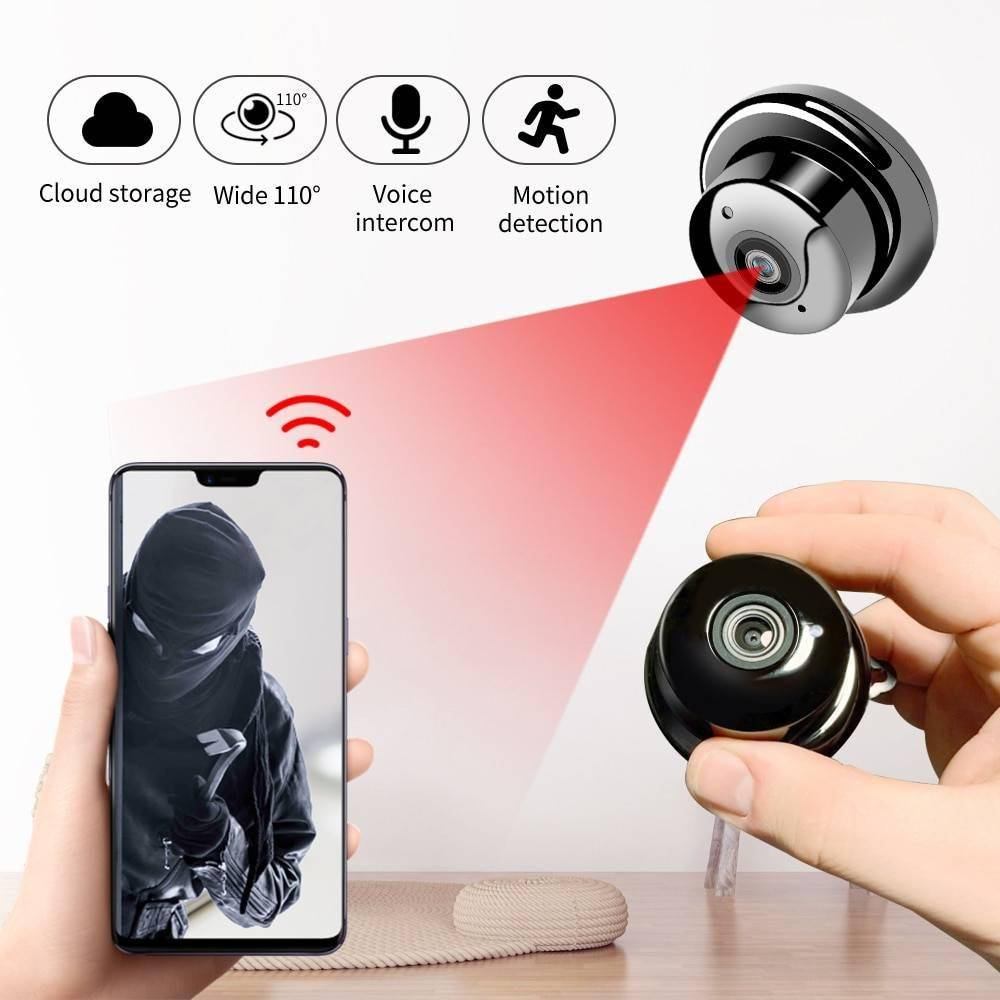 1080P Wireless Security Camera iPhone cases, wireless speakers, activity trackers & cool gadgets